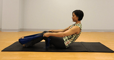 embody movement pilates roll up with band