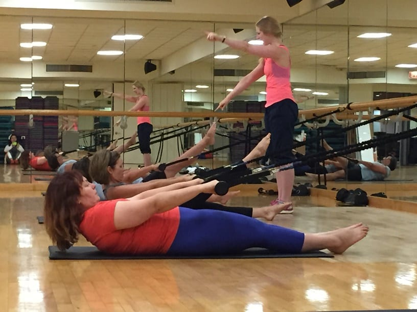Pilates Energy Barre starts September 6