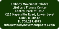 Embody Movement Pilates Contact Information