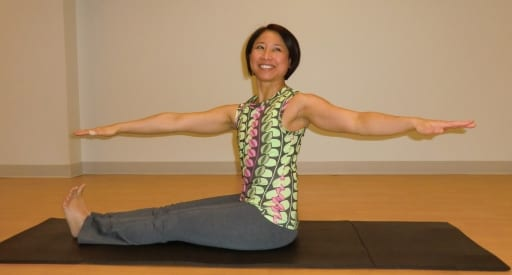 spine twist front pilates