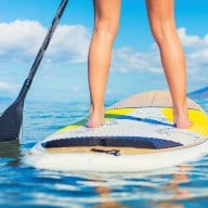 core strength stand up paddleboard