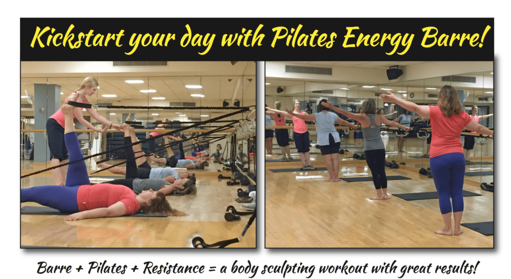 graphics for Pilates Energy Barre