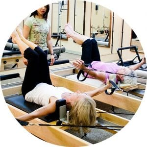 Pilates small group classes